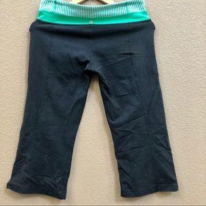 Lululemon crop yoga pants Sz 8